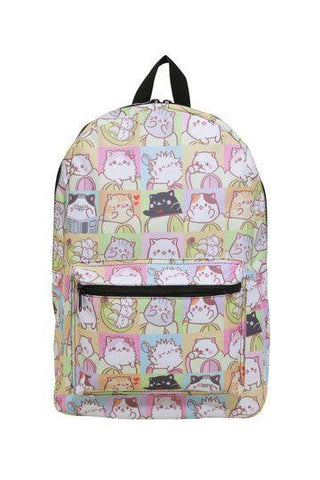 Bananya Backpack Tile Cat Sublimated