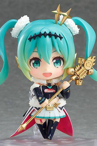 Hatsune Miku GT Project Nendoroid PVC Action Figure Racing Miku 2018 Ver. 10 cm