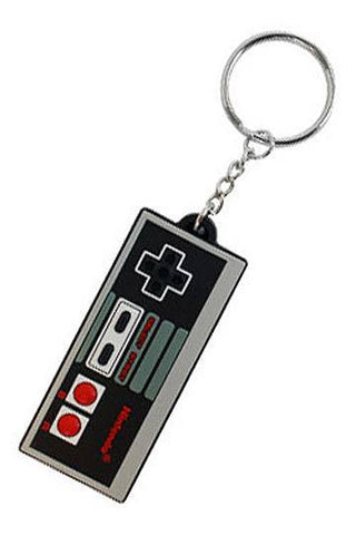 Nintendo Rubber Keychain NES Controller 7 cm
