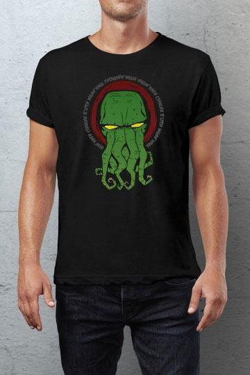 Black Cthulhu Idol - T-Shirt