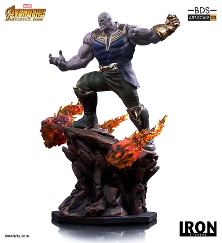 Avengers Infinity War BDS Art Scale Statue 1/10 Thanos 35 cm
