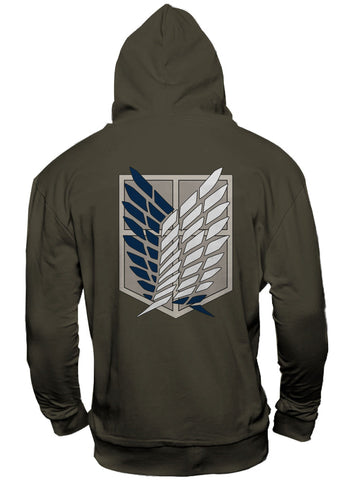 Attack on Titan Hooded Sweater Scout