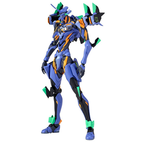 Evangelion Evolution Action Figure Revoltech Evangelion Anime Evangelion Final Unit 17 cm