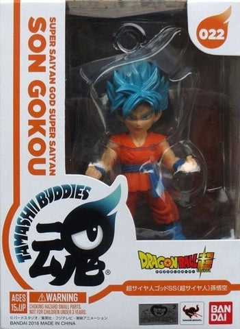 Dragon Ball Z Tamashii Buddies - Super Saiyan God Super Saiyan Goku -  - Buddies, Goku, SonGoku, SSG, SuperSaiyan, SuperSaiyanGod, Tamashii