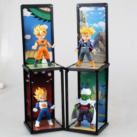 Dragon Ball Z - Son Goku, Vegeta, Trunks, Piccolo, Tamashii Buddies 4pcs/set - Figurine - dragonball, Dragonballsuper, Dragonballz, Goku, Piccolo, SonGoku, Tamashii, TamashiiBuddies, Trunks, Vegeta