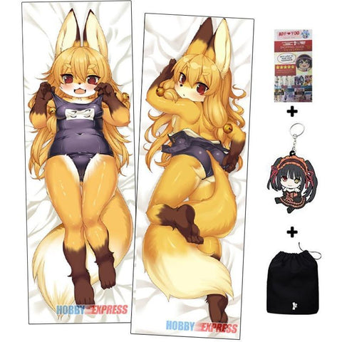 New Kawaii Furry Anime Dakimakura Japanese Hugging Body Pillow  ADP65090 -  - SenpaiWares