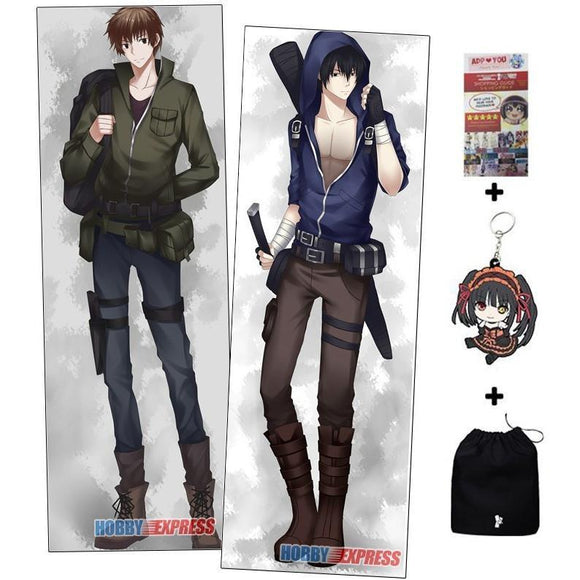 New Handsome Yaoi Friends Male Anime Hugging Body Dakimakura Pillow Cover MGF-57044 -  - SenpaiWares