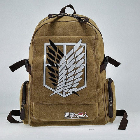 Attack on Titan Backpack - AOT Season 1, aot, aotcosplay, Attack on Titan, attackontitan, attackontitancosplay, backpack, erenjaeger, erenxlevi, heichou, heichoucosplay, leviackerman, leviackermancosplay, levicosplay, levicosplayer, leviheichou, levixeren, snk, snkcosplay
