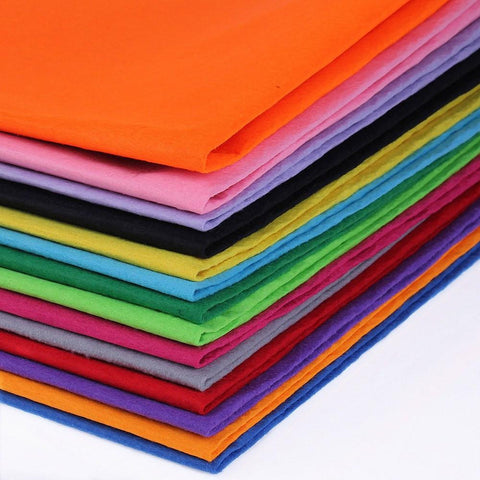 Big Sheet of Non-woven Felt Fabric Material for Cosplay \ Costumes - 1mm - Fabric - SenpaiWares