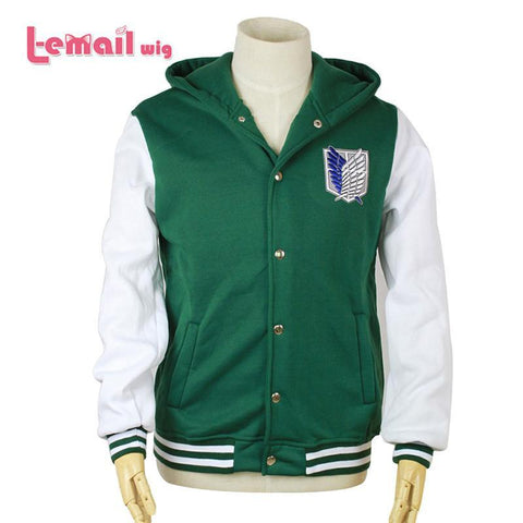 Attack On Titan - Hoodie Shingeki No Kyojin Jacket Cosplay -  - SenpaiWares