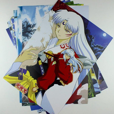 Inuyasha Poster collection - 8 High Quality Posters -  - SenpaiWares