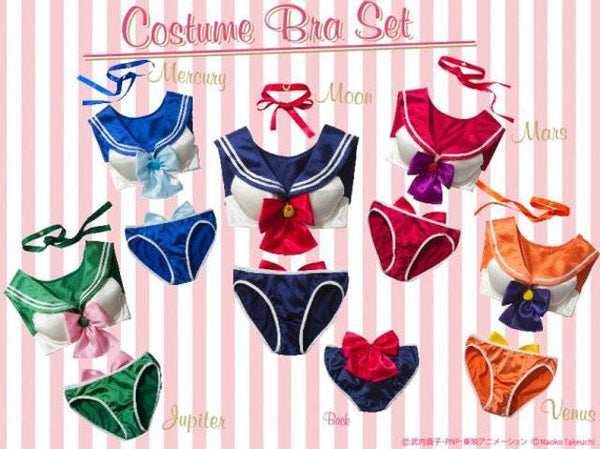 Sailor moon Sexy underwear bra and panty set 18+
