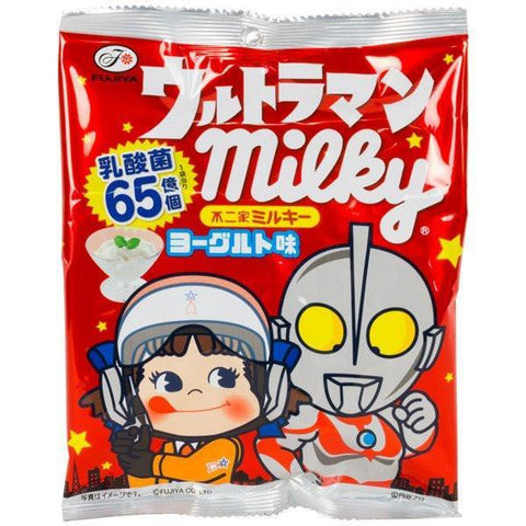 Ultraman Milky Candy (Yogurt Flavored) - Candy - Anime, Candy, chewy, chewy candy, Cute candy, Japanese, JapaneseCandy, japanesesnack, Peko Chan, peko chanmilky, ultraman, yogurt