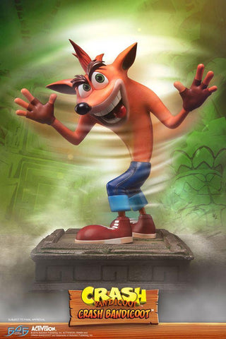 Crash Bandicoot Statue Crash 41 cm, 41 cm, Bandicoot, Crash, Official, PreOrder, Statue