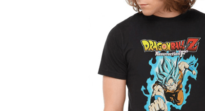 Mens Clothing Looking for yourself? A loved one? A dragonball fan? We have the best official and fan made anime and pop culture shirts for men! Shop Now!
