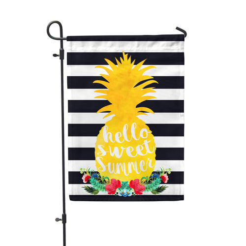 *SAMPLE SALE* Sweet Summer Pineapple Home & Garden Flag - Second East