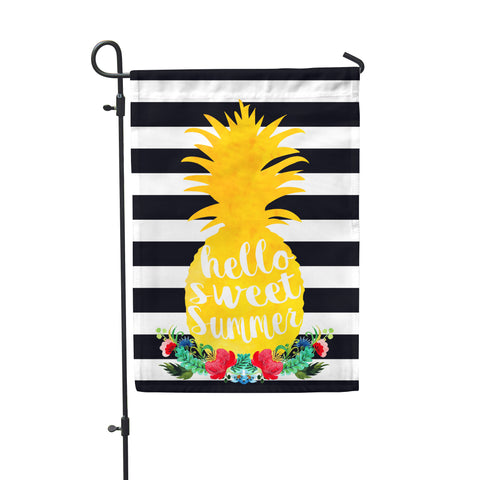 Summer Pineapple Garden Flag - Second East