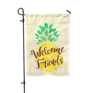 Welcome Friends Garden Flag - Second East