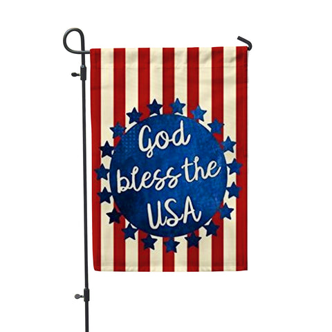 "God Bless America Garden Flag 12"" x 18"" - Second East"