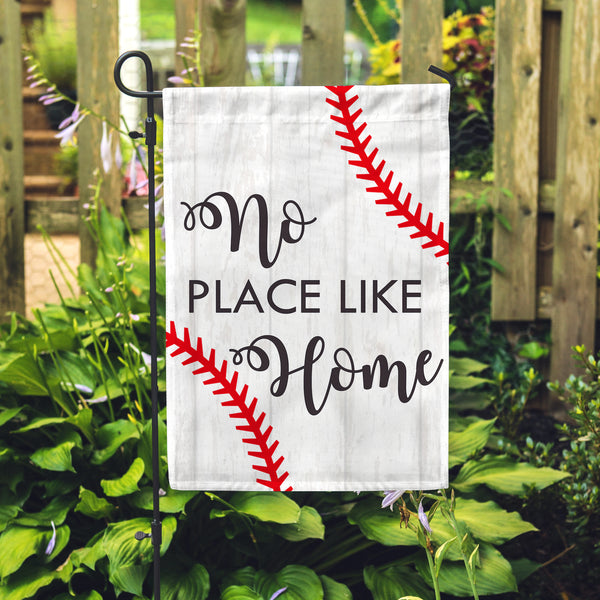 Baseball Home Garden Flag - Second East