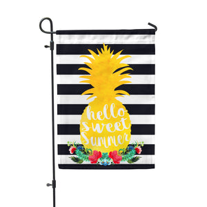 Sweet Summer Pineapple Garden Flag - Double Sided - Second East