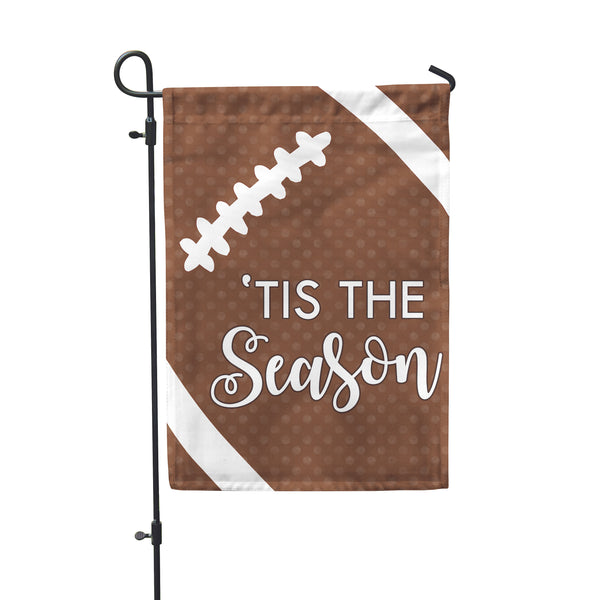 "Football Season Garden Flag 12"" x 18"" - Second East"