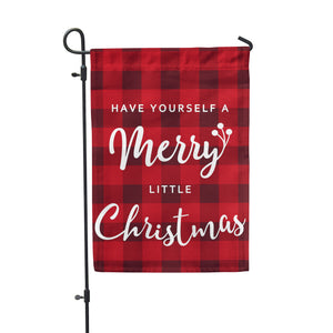 "Merry Little Christmas Garden Flag 12"" x 18"" - Second East"