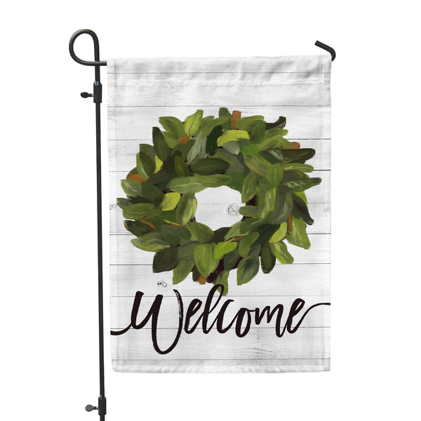 Welcome Magnolia Garden Flag - Double Sided - Second East