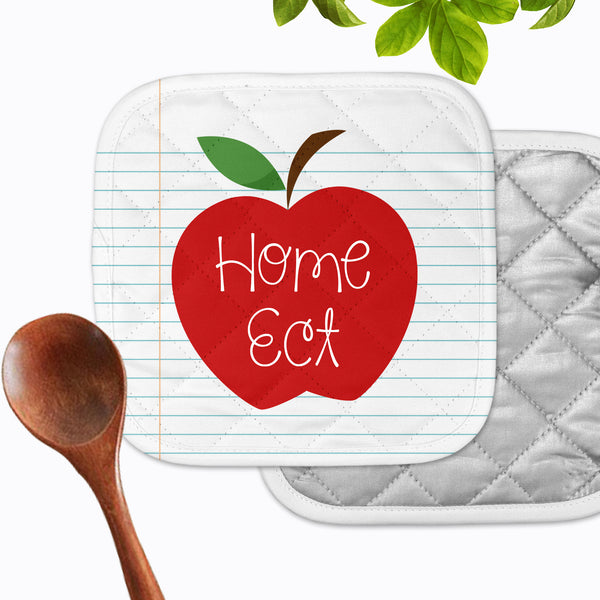 Personalized - Apple Notepad Hot Pad - Second East