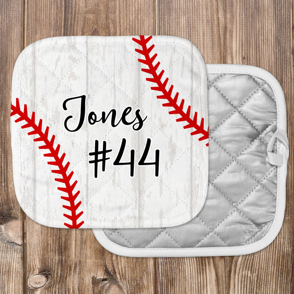 Personalized - Baseball Hot Pad - Second East