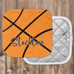 Personalized Basketball Hot Pad - Second East