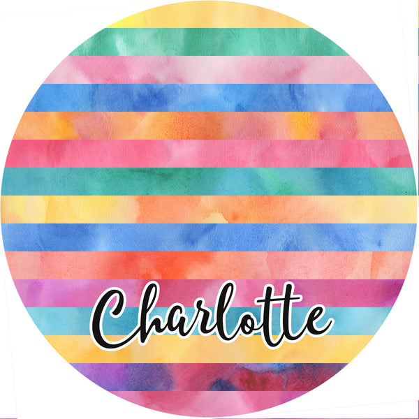 Personalized Round Mouse Pad - Charlotte - Second East