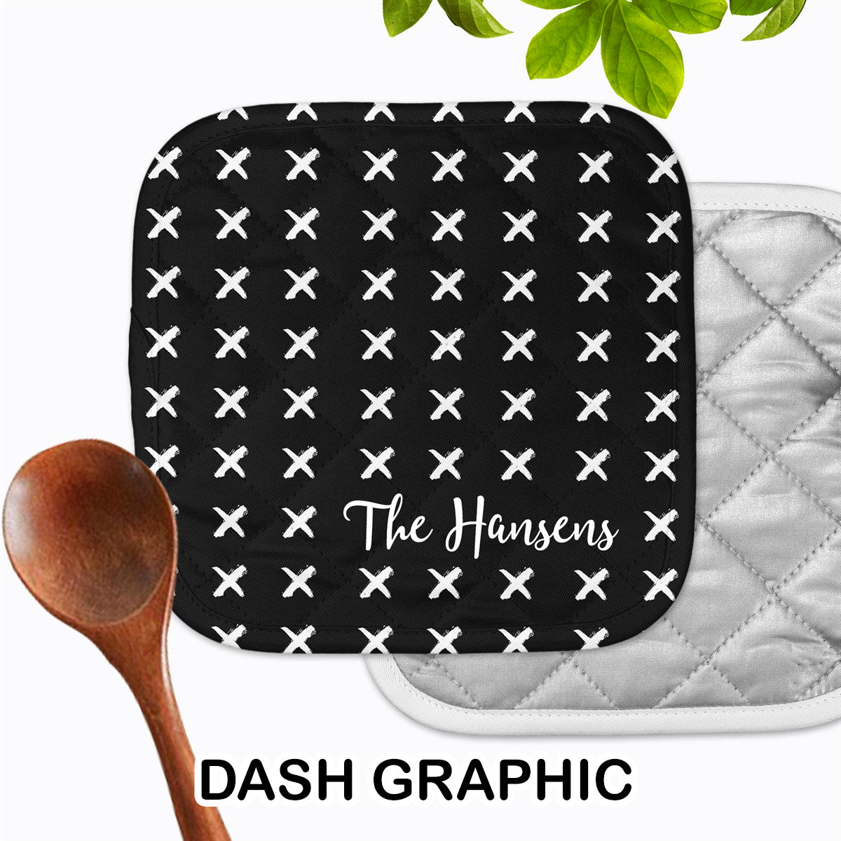 Personalized - Dash Graphic Hot Pad - Second East