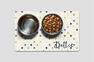 Personalized - Dottie Pet Mat - Second East