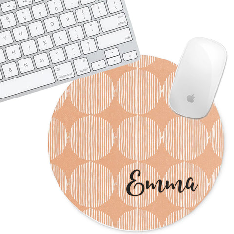 Personalized Round Mouse Pad - Emma - Second East