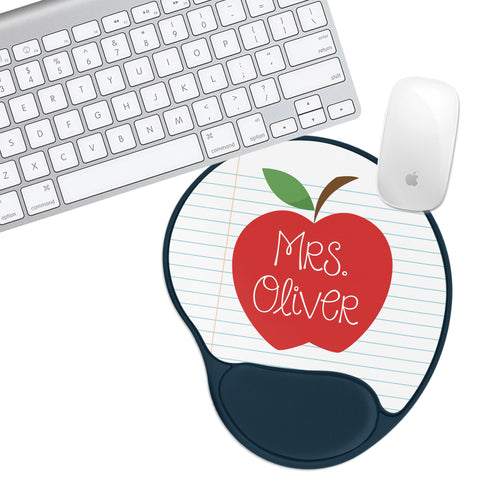 Custom Personalized Apple Notepad Padded Mouse Pad - Second East