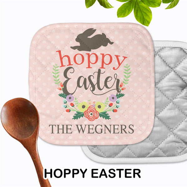 Personalized - Hoppy Easter Hot Pad - Second East