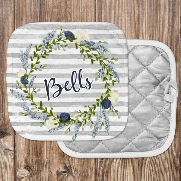 Personalized - Hello Stripe Hot Pad - Second East