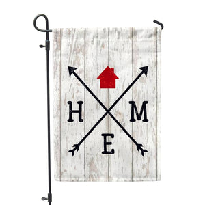 Home Arrow Garden Flag - Second East