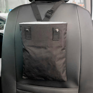 Black Car Trash Bin | Car Organizer