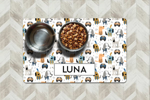 Personalized - Luna Pet Mat - Second East