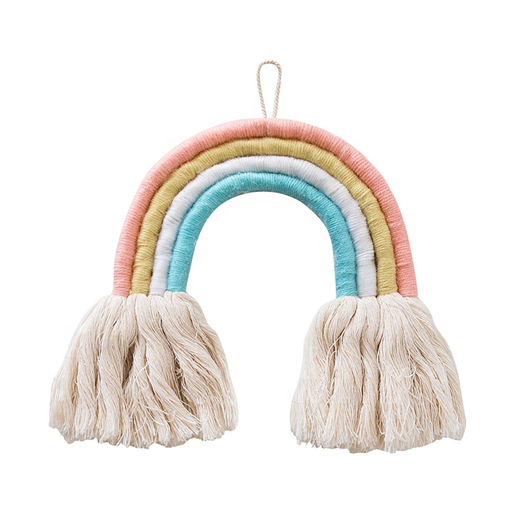 Brier Rainbow Macrame Wall Hanger