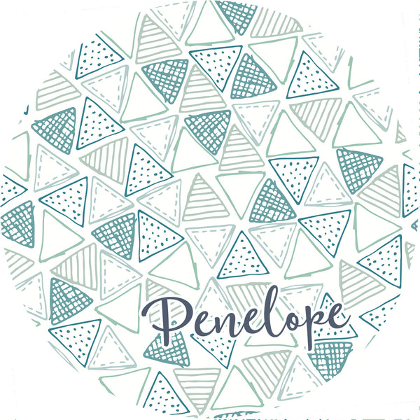 Personalized Round Mouse Pad - Penelope - Second East