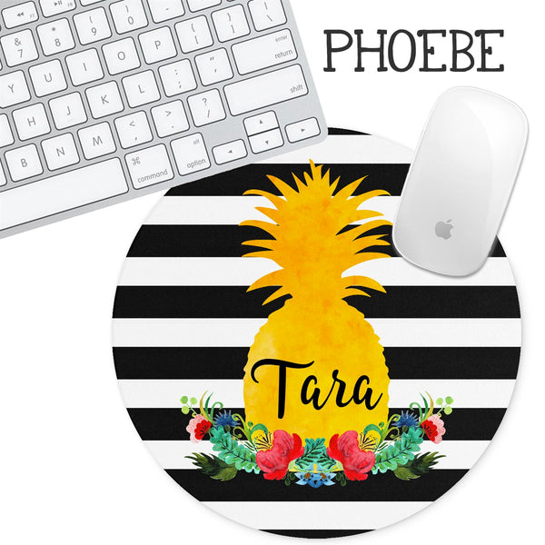 Personalized Round Mouse Pad - Phoebe - Second East