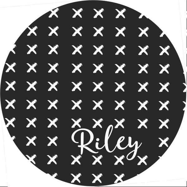 Personalized Round Mouse Pad - Riley - Second East