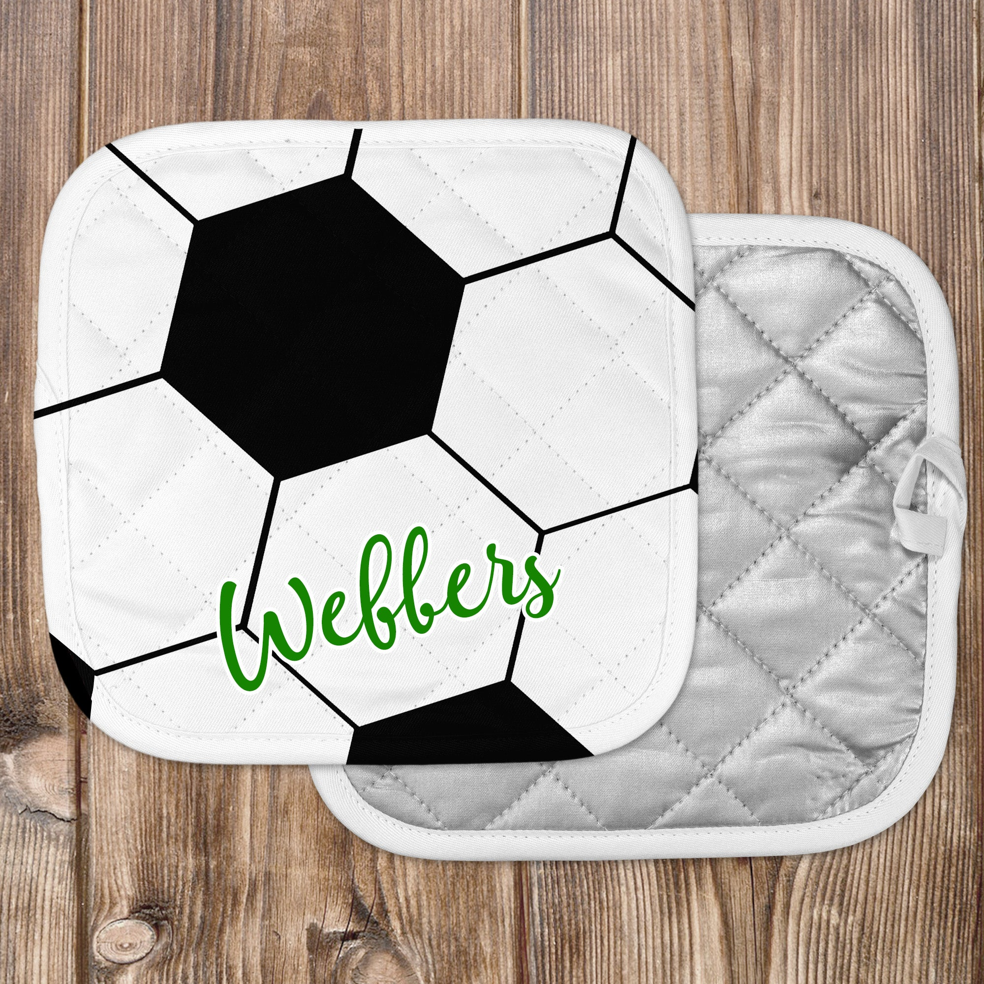 Personalized - Soccer Hot Pad - Second East