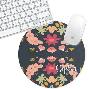 Personalized Round Mouse Pad - Sophia - Second East