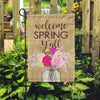 Welcome Spring Y'all Home & Garden Flag - Second East