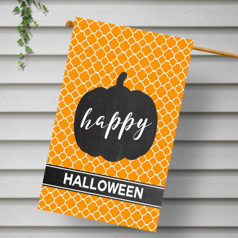 CUSTOM - Happy Halloween Double Sided - 24 x 36 House Flag - Second East