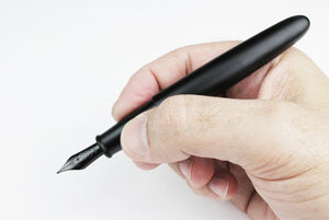 PIUMA Minimalist Fountain Pen - Black Aluminum
